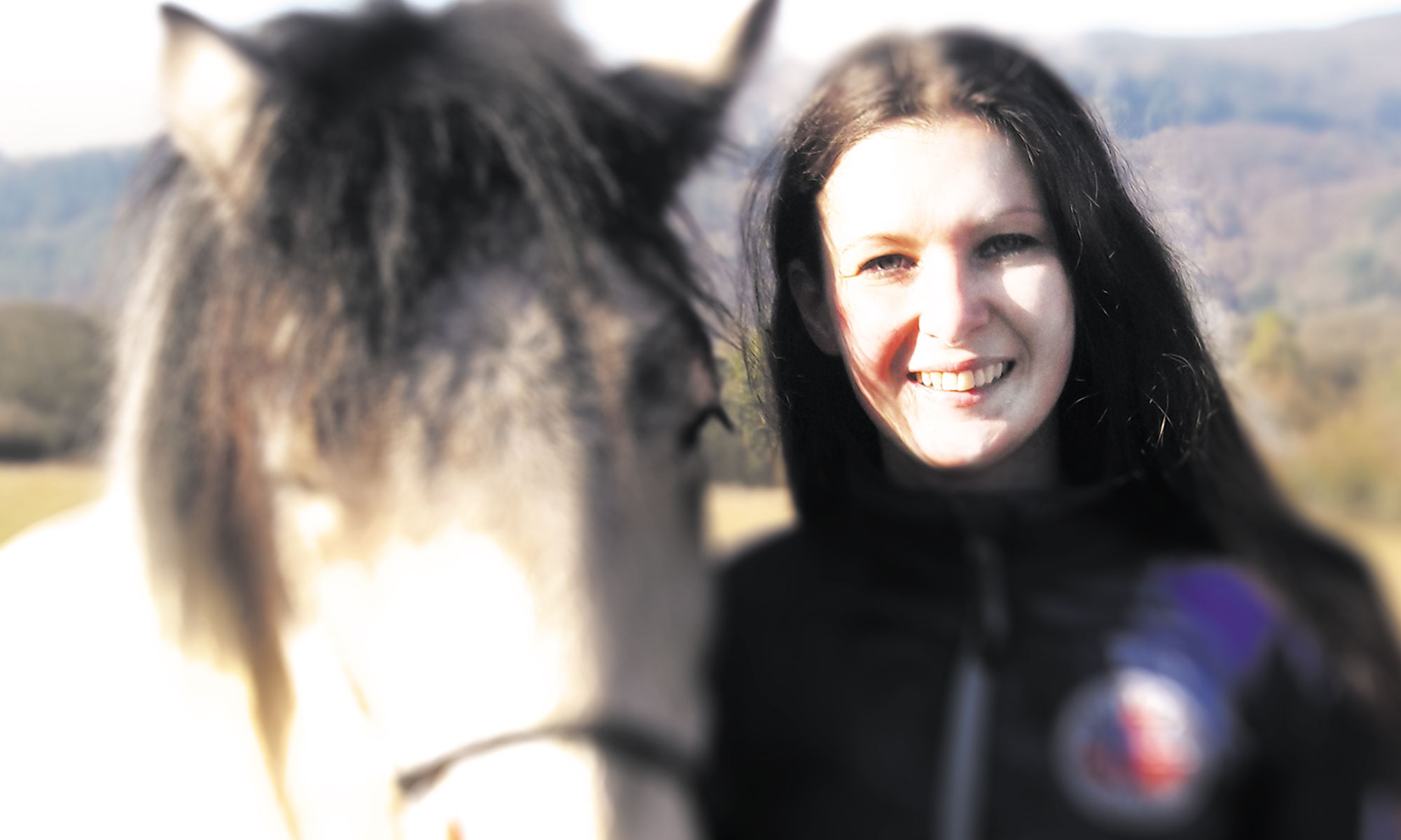 Daniela Fuchs mit Pferd